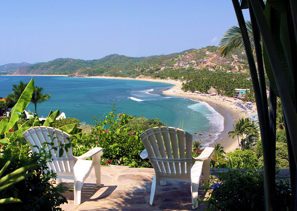 An Idyllic View of Sayulita